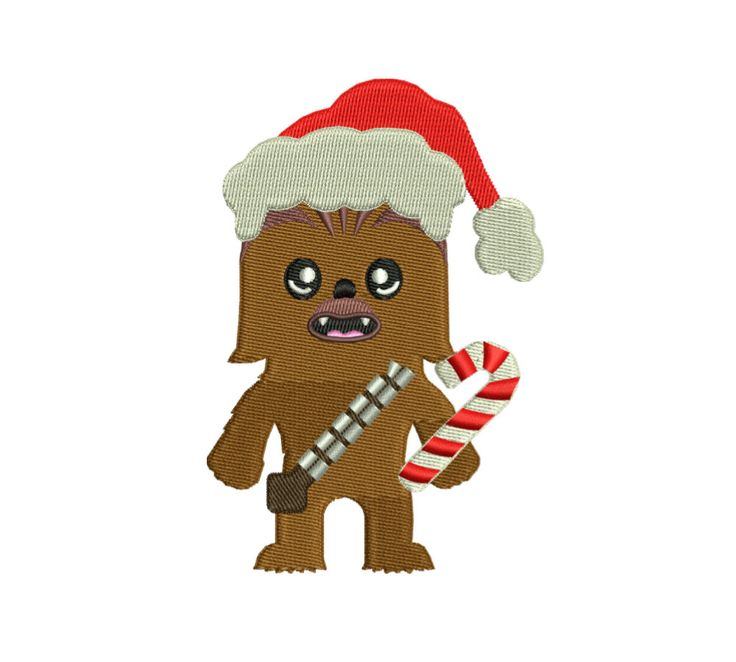 Star Wars Chewbacca Embroidery Design | Chewbacca Embroidery Design | Star Wars Christmas Machine Embroidery |Chewbacca Christmas Embroidery by StitchValley on Etsy  #starwarsembroidery #starwarschristmas #chewbaccaembroidery #chewbaccarchristmas #christmasembroidery