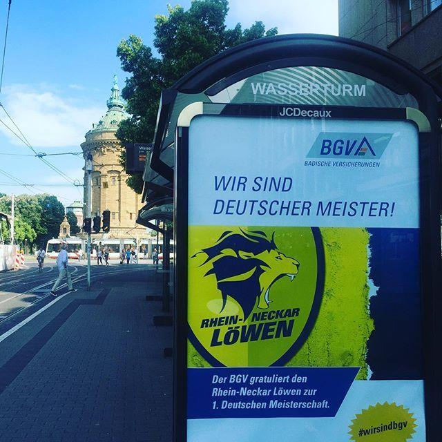 ! #Mannheim #wasserturm #1teamamziel #1team1ziel #wirsindbgv