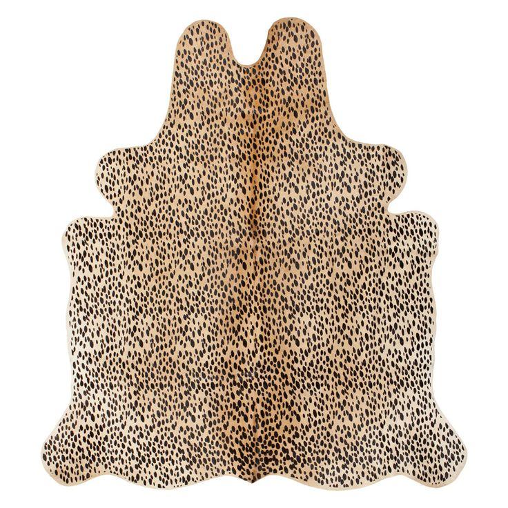 Print Leopard Rug | ZARA HOME