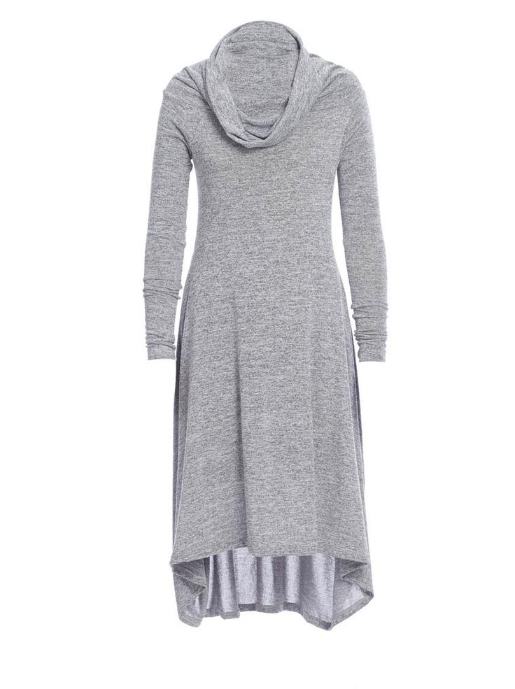 Helen cowl-neck dress