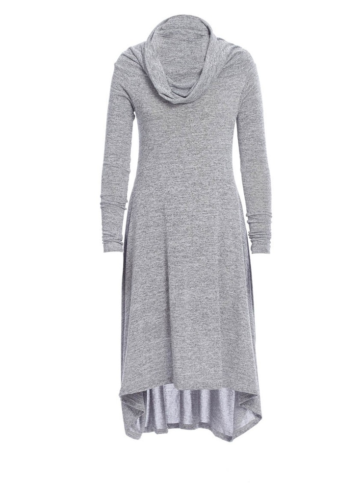 Helen cowl-neck dress