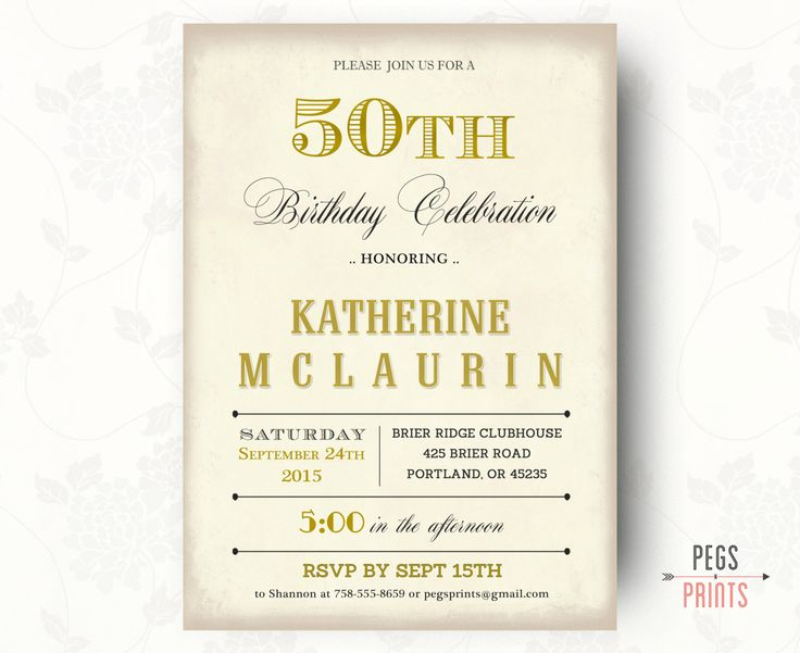 69 best Party invitations images on Pinterest