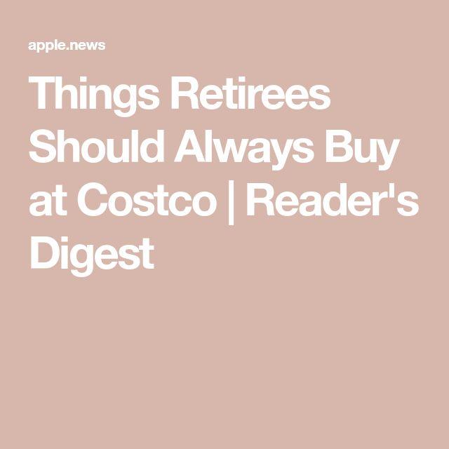 94162931c32 Things Retirees Should Always Buy at Costco