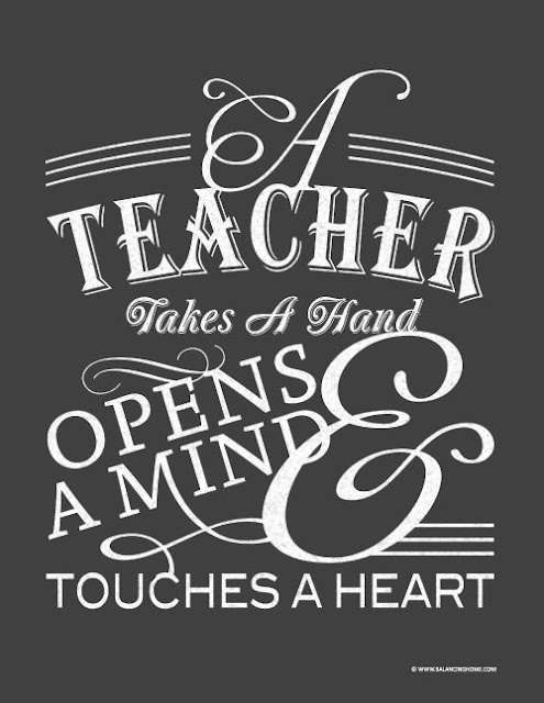 Take the time to thank a teacher this week. TeacherAppreciationWeek