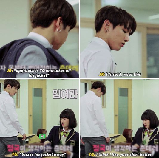 'Min Yoonji', she's hella smooth and the LUCKIEST GIRL ever XD
