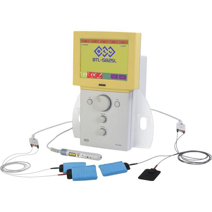 BTL-5825L Combi. Aparat Combi, 3-kanałowy: 2x elektroterapia - powiększony zakres prądów, laseroterapia.