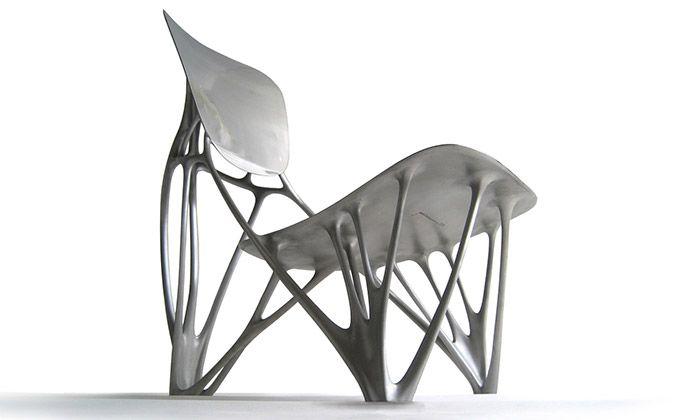 Joris Laarman vystavuje high-tech design nábytku
