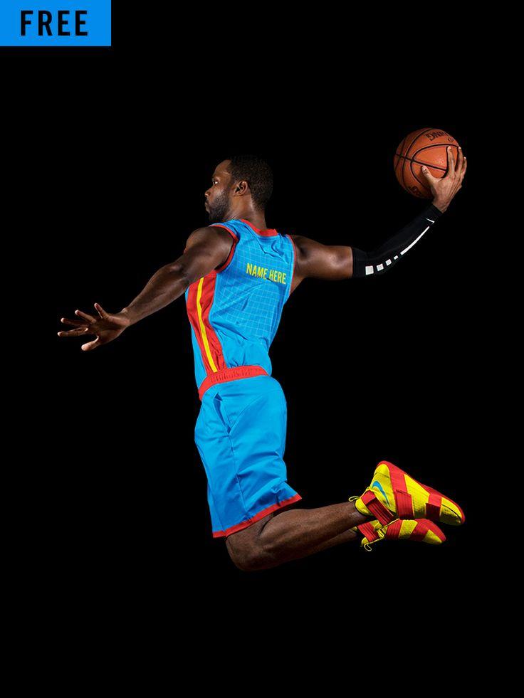 Download Basketball Full Jersey Mockup Dunk - FREE | Dunk