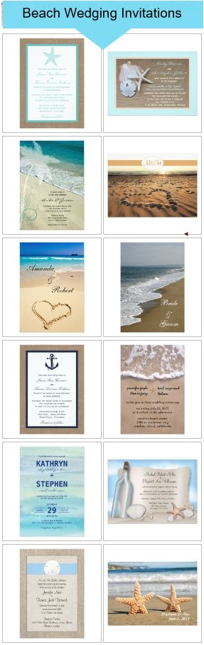 Beach Wedding Invitations-most repinned