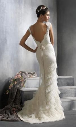 22 best images about lazaro on pinterest lace vintage for How much is a lazaro wedding dress
