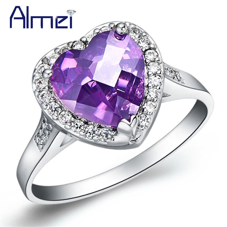 Find More Rings Information about Almei Women Rings 925 Sterling Silver Jewelry Anillos De Compromiso Engagement Rings 2016 New Fashion Jewellery for WomenJ194,High Quality jewellery box,China jewellery tree Suppliers, Cheap jewellery necklace from Almei Jewelry Store on Aliexpress.com
