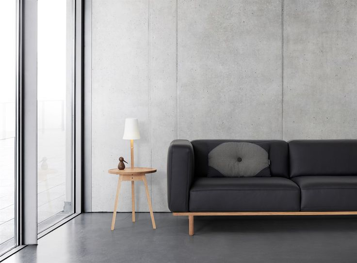 Andersen Furniture - Sofabord Caffee Table C2 - rundt sofabord - dansk design - inspiration til indretning af stue - drømmebolig