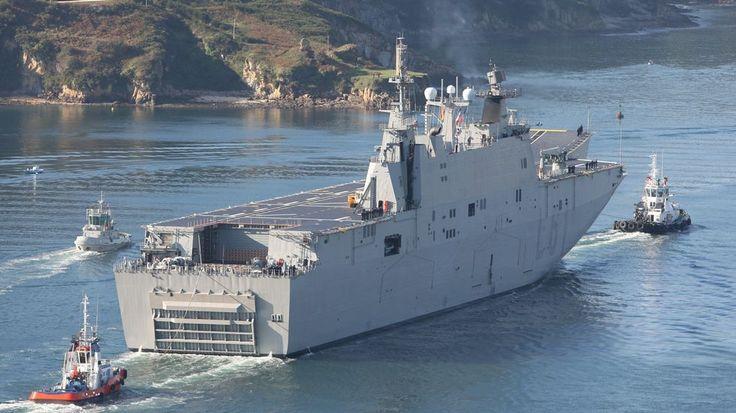 Noticias 24 horas en Internet: El Goliat de la Armada española
