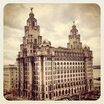 What a view!! ( Liverpool's liver birds )