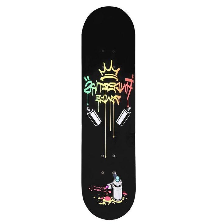 Der Spielzeugtester hat das cooshional Ahorn Skateboard Komplett Board Longboard… – Spielzeugtester