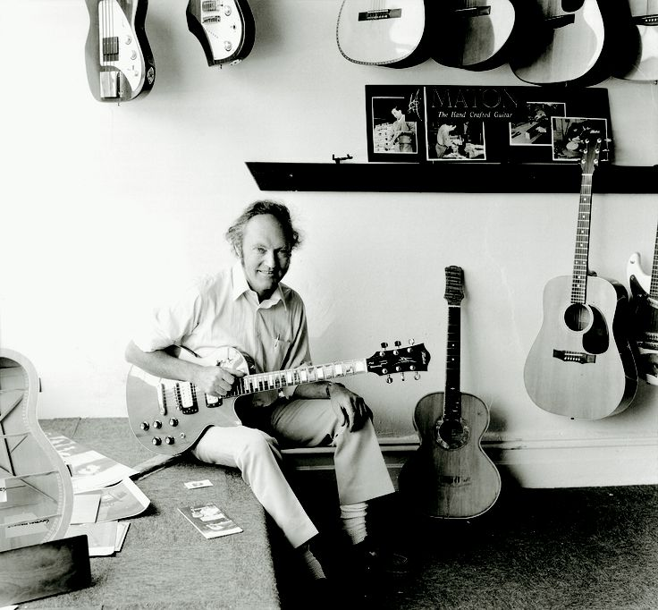 Bill May Founder of Maton Guitars in 1946