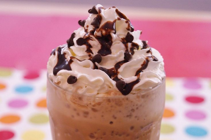 Homeade Double Chocolate Chip Frappe