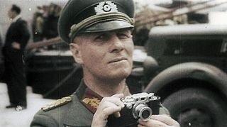Erwin Rommel+1941 Leica lll