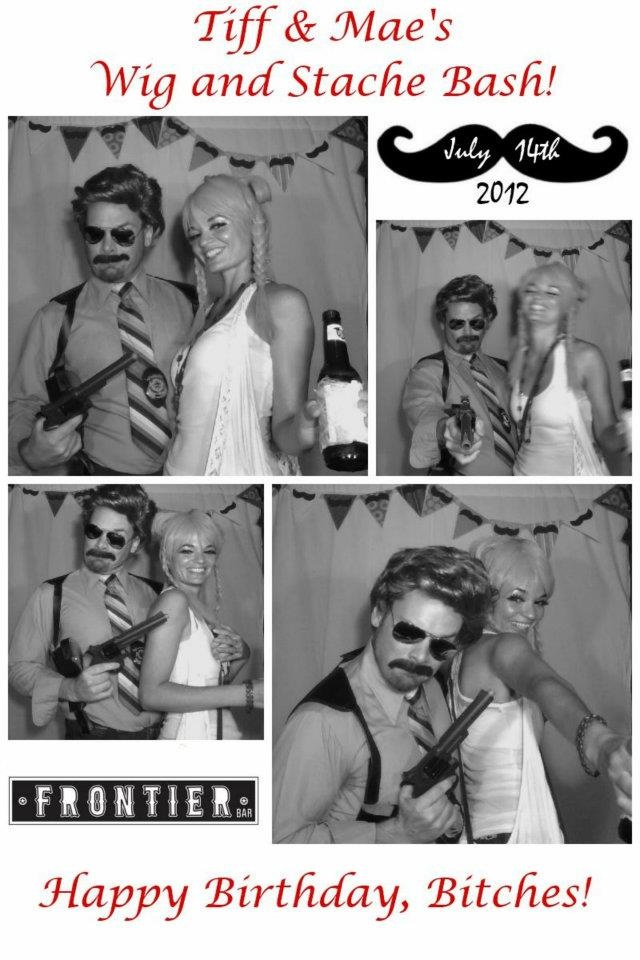 Photo Booth / Wig & Mustache party