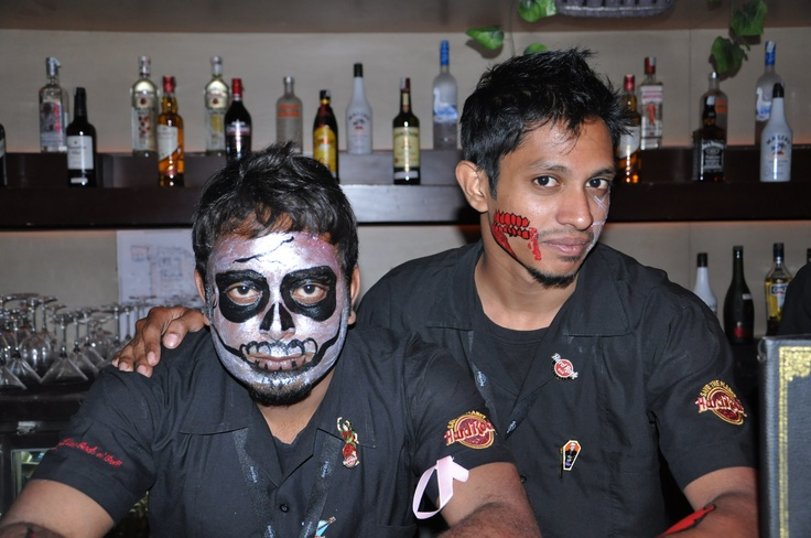 Spook-a-boo!  [Hard Rock Café Hyderabad]