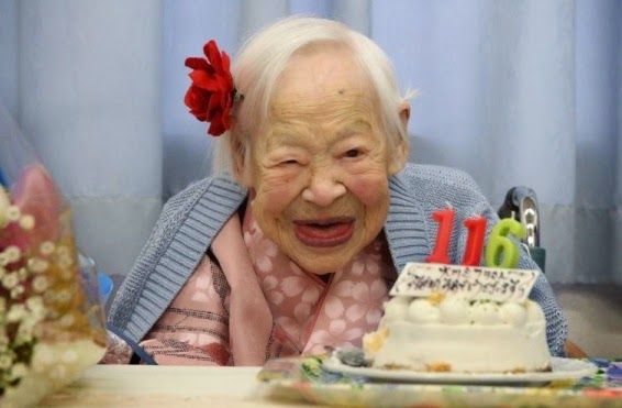 Welcome to Maureen Sylvia's Blog: Misao Okawa, world's oldest person dies today at 1...