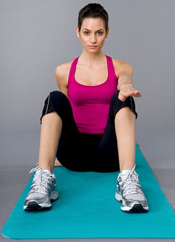 How To Get Rid Of Thigh Fat with Exercise. 2 BYE BYE TO YOUR INNER THIGHS. Sit on the floor with your back straight, knees bent and legs apart