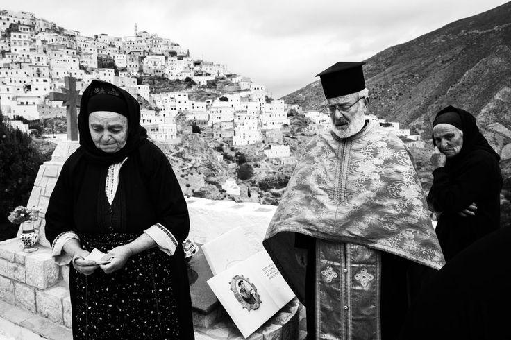 Easter Tuesday in OlymposGreece. South Aegean. Olympos. © George Tatakis
