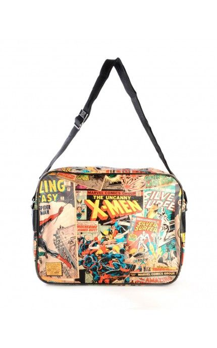 Pinup Girl Clothing- Marvel Retro Collection Messenger Bag | Pinup Girl Clothing
