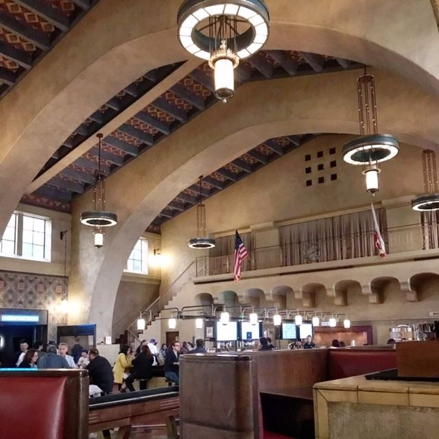 If Arriving By Train Or Metro At Union Station In Los Angeles Enjoy A Cold One And A Snack At Imperial Western Beer Com Union Station Beer Company Los Angeles