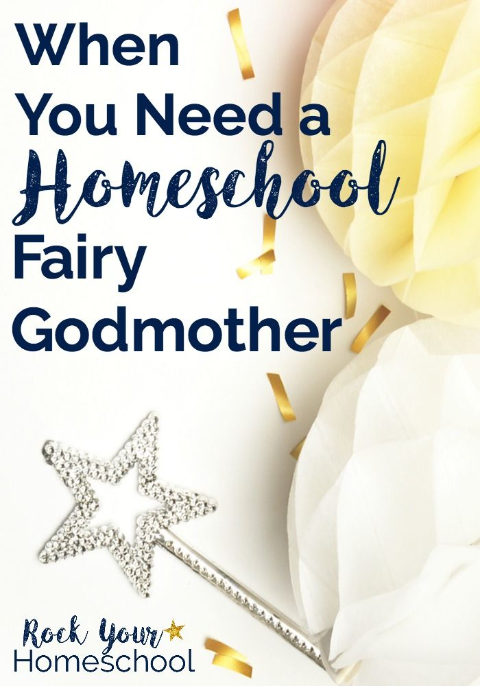 What do you do when you need a homeschool fairy godmother? Get ideas & inspiration to help you get past struggles & get on with enjoying your homeschool.