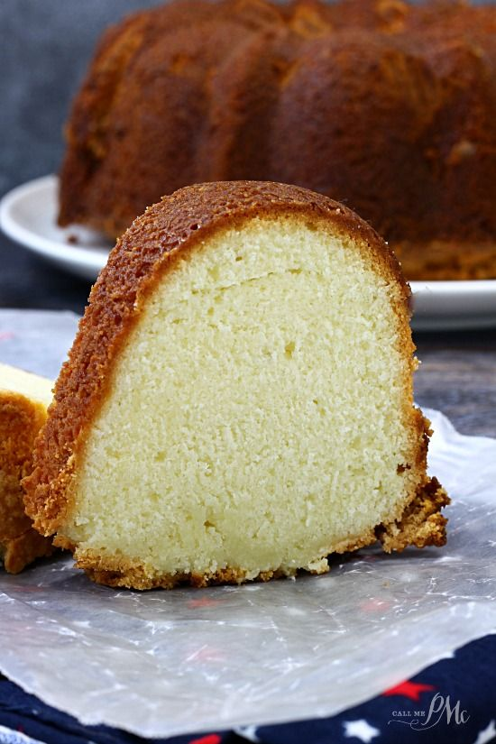 Lemon Cream Cheese Pound Cake Recipe #poundcake #lemon #dan330