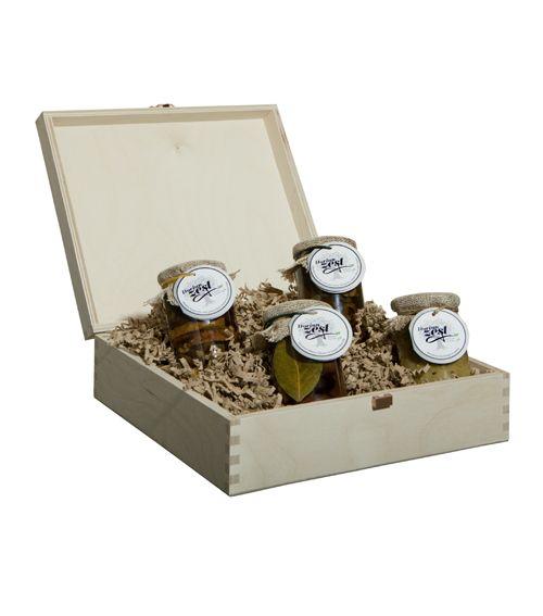 Mediterranean lunch break - entire gift box