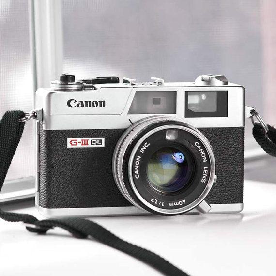 Canon Canonet QL 17 GIII rangefinder camera  - Vintage Camera - Poor Man's Leica on Etsy, $174.00