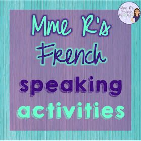 Frenchspeakingactivities,games,andskitsfromMmeR'sFrenchResources