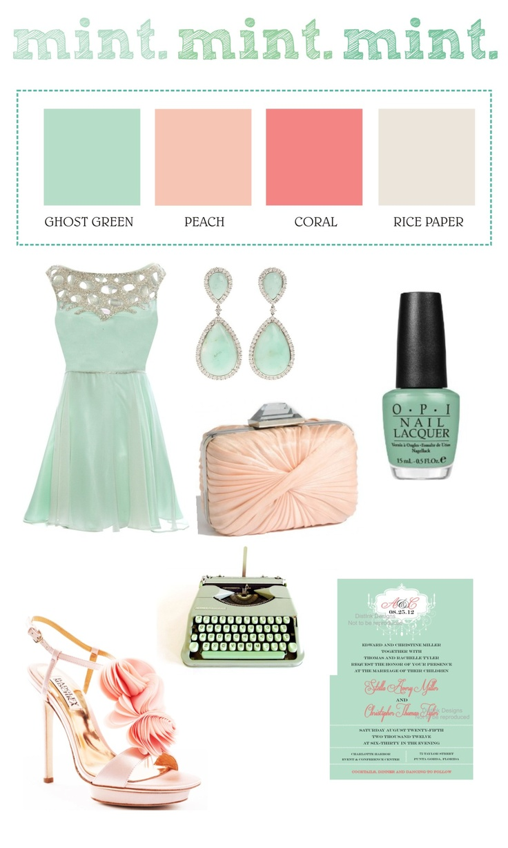 """Love these colors if we switch and decide to do a spring wedding instead of fall!! """"TREND ALERT! Predictions of Spring/Summer 2013 Wedding Colors"""""""
