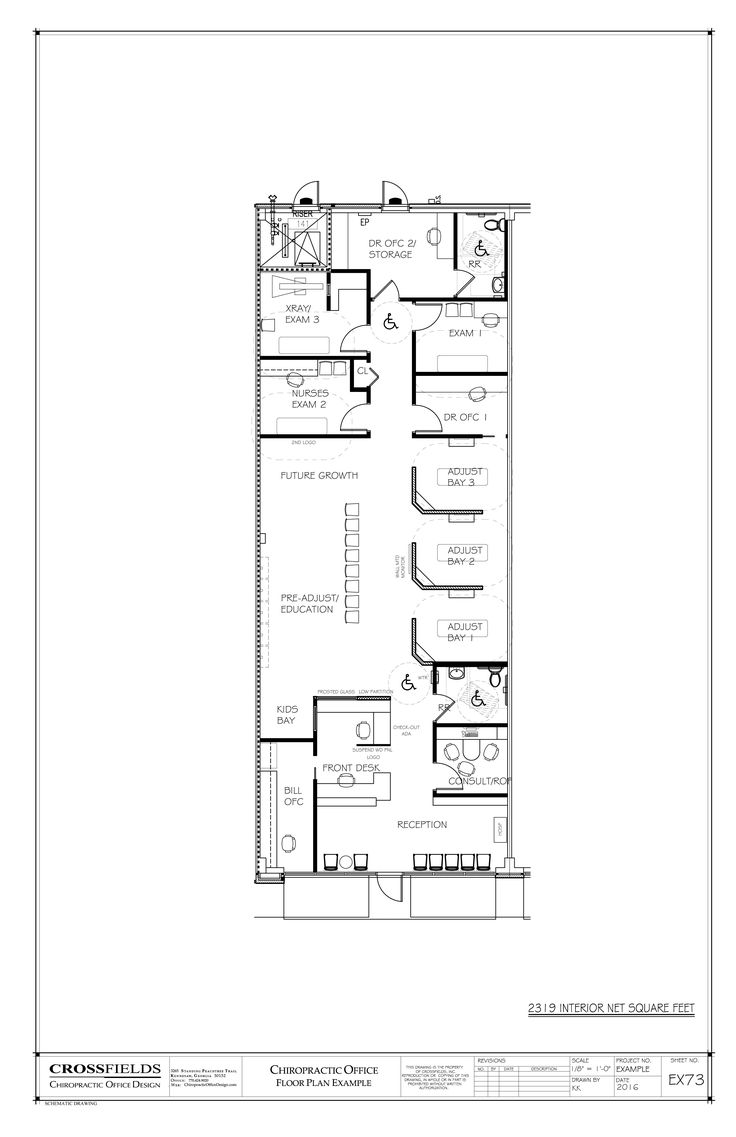 View Some Chiropractic Office Floor Plans That We Have Created For Our  Clients. Get Ideas For Planning Your Next Chiropractic Clinic.