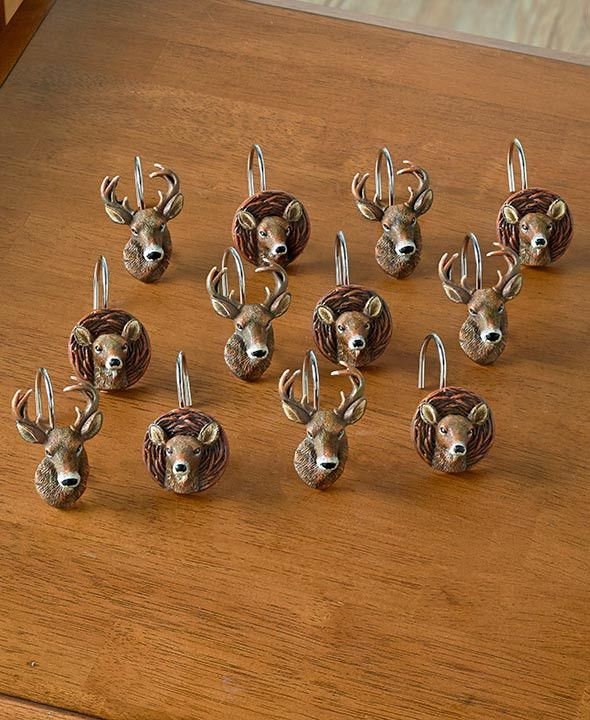 Best 25+ Deer shower curtain ideas on Pinterest | Cabin bathroom ...