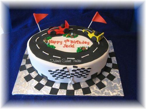#Go Kart Racing cake Please repin!
