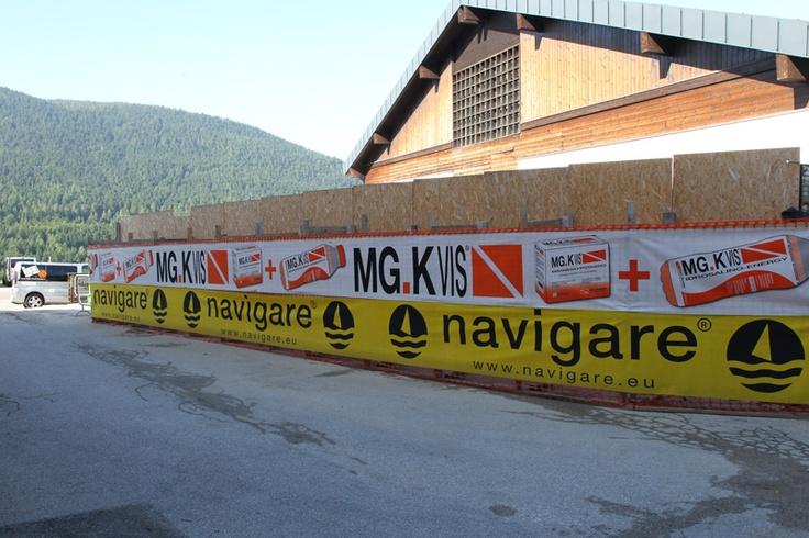 Il campo estivo di basket per ragazzi a Folgaria, sponsorizzato da Navigare