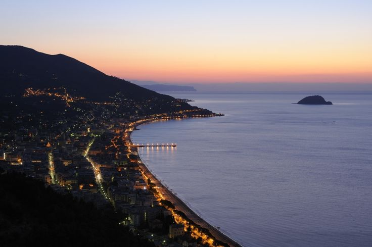 Alassio, Italy. Beautiful and relatively unspoilt