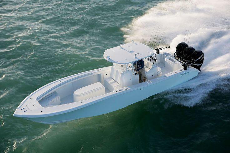 Yellowfin 36 center console fishing boat