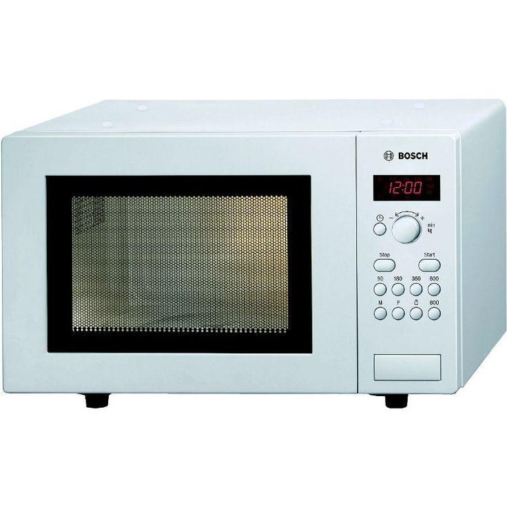 BOSCH HMT75M421B Freestanding 17 Litres Microwave Oven - White at Atlantic Electrics #bosch #microwave #oven #AtlanticElectrics