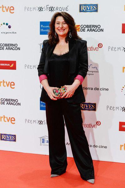 Adelfa Calvo during the 23rd edition of Jose Maria Forque Awards at Palacio de Congresos on January 13, 2018 in Zaragoza, Spain.