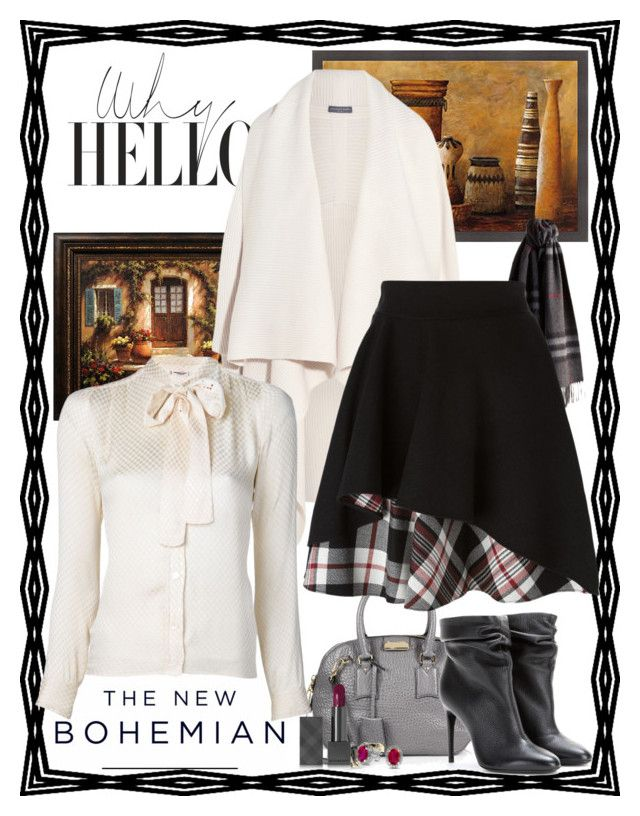 """""""Why Hello!"""" by ann-kelley14 on Polyvore featuring Burberry, American Eagle Outfitters, Alexander McQueen, Yves Saint Laurent and Bling Jewelry"""