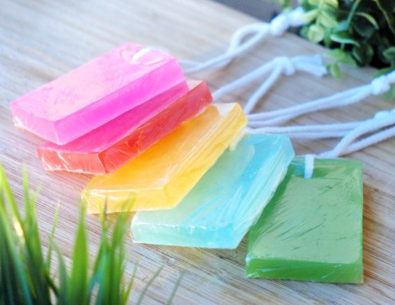 how to make soap that looks like crystals