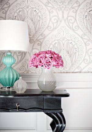 Wallpaper from Thibault Artisan Collection