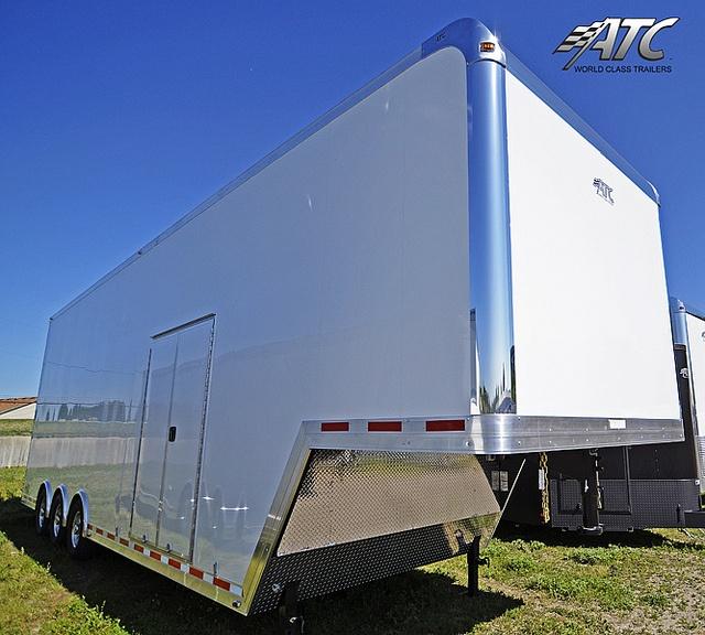 2012 RSX Steel Gooseneck Stacker Car Hauler by ATC Trailers, via Flickr