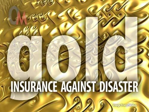 Gold insurance against disaster. Gold miners are cheap in today's stock market.