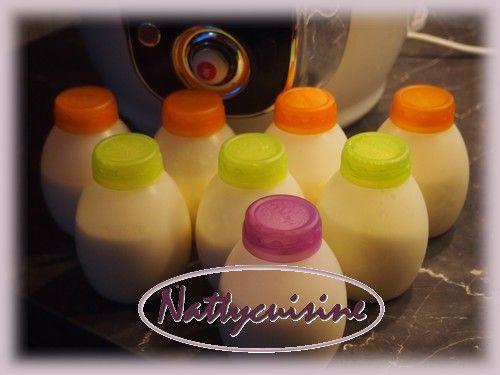 Depuis 3 semaines maintenant je prépare mes yaourts à boire dans mon Cookéo. A raison de 7 Yabs par litre de lait, je fait une fournée tout...