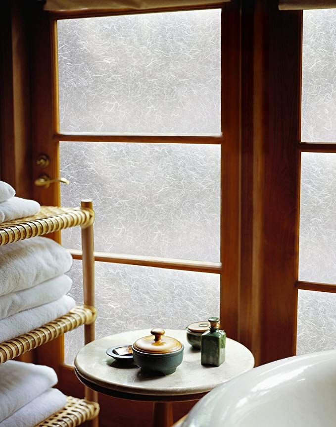 Artscape Rice Paper 36 In X 72 In Window Film 36 By 72 Frosted Rice Paper Window Film Rice Paper Window Window Film